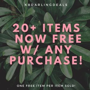 🌿FREE ITEM WITH ANY PURCHASE!!